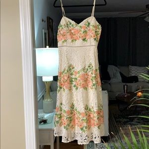 NWT Vici Collection Floral Lace Midi Dress